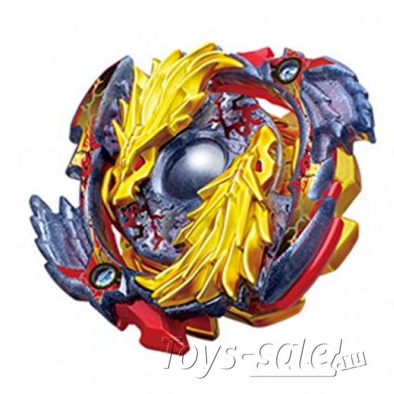 Волчок Бейблэйд Бёрст Луинор Золотой Дракон (Beyblade Lost longinus Gold Dragon) B-00-2