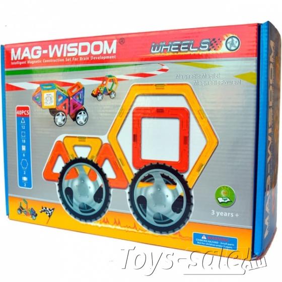Магнитный конструктор MAG-WISDOM 40 деталей