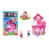 Розовый домик свинки Пеппа