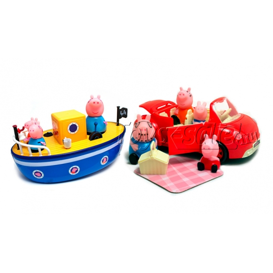 Большой игровой набор «Речная прогулка свинки Пеппа»