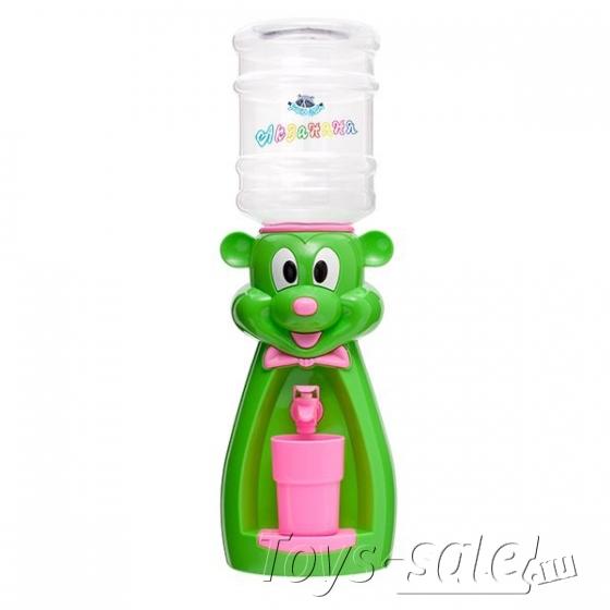 Мини кулер для воды и сока Мышка Зеленая