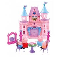 Новый Замок свинки Пеппы с мебелью и фигурками